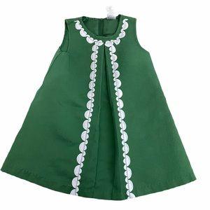 Gymboree Toddler Sleeveless Green Dress  size 2T